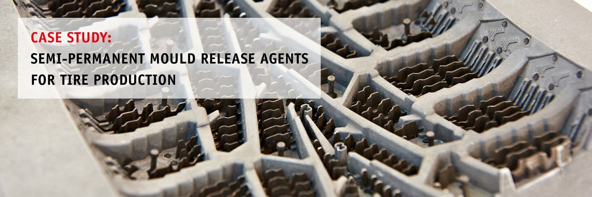 Semi-permanent mould release agents